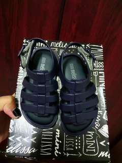 Mini Mel Navy Blue Flox
