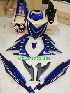 COVERSET Y15ZR BIRU EXCITER 150 GP EDITION 2018
