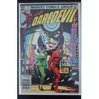 Daredevil #197 (1st Series 1983) 1ST Appearance of Yuriko Oyama- Lady Deathstrike! Key Book!