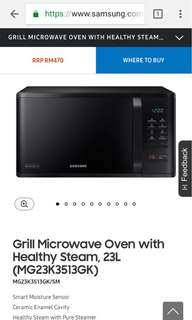 Brand New 23L Samsung Microwave Oven and Grill