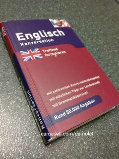 German - English Pocket Dictionary - Kamus Jerman Inggris