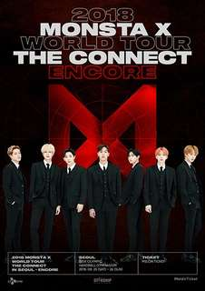 [Interest Check] Monsta X The Connect Encore Seoul 2018