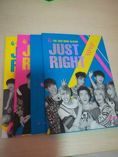 GOT7 ALBUM Just Right