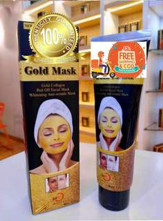 Authentic Dexe 24k gold mask  SRP 350