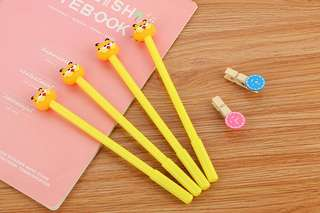 Cute Pens - Garfield/kimono girl/Pooh/Sponge box & more