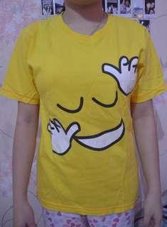 Dancing emoticon yellow top