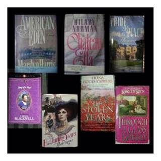 BOOK SELECTION: Historical Romance / Saga