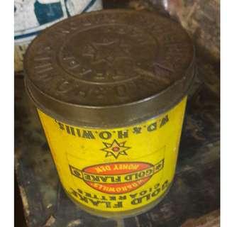 Vintage ERROR cigarette tin