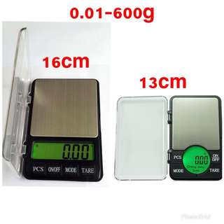 🔥 Pocket Scale Electronic Digital Scale Weighing Penimbang Emas Mini 0.01-600g