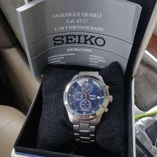Seiko chrono Watch 'Second'
