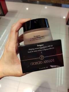 Giorgio Armani designer cream