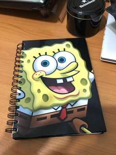 Spongebob Squarepants Ring Notebook A5