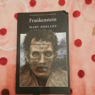 (english book) frankenstein - mary shelley