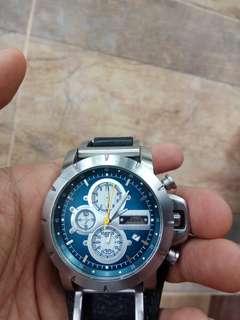 Jam tangan fossil chronograph