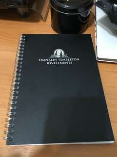 Franklin Templeton Investments A5 Notebook