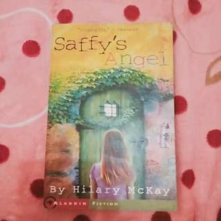 (english book) saffy's angel - hilary mckay