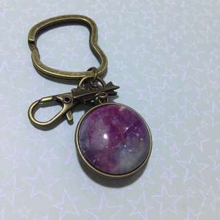 Keychain - Two sided Dome