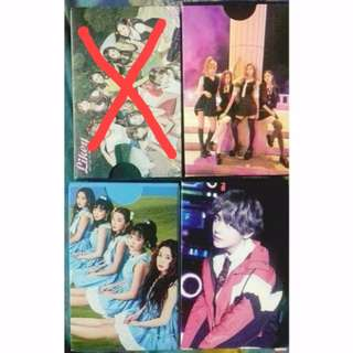 (Clearance Stock) Kpop Lomo Card