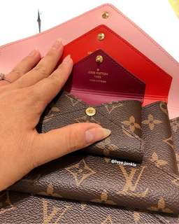 Authentic LV Kirigami Clutch 3in1