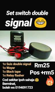 double signal for motorcycle