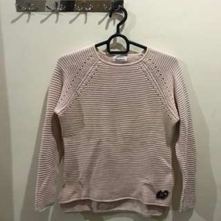 Zara Pink Knit Sweater