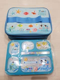 Yoo yee lunch box + lunch bag