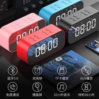 Bluetooth Speaker & Alarm Clock