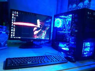 RUSH Gaming Computer Set