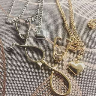 STETHOSCOPE NECKLACES