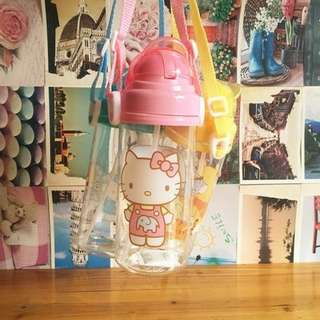 Hello Kitty Water Bottle 450ml BPA Free