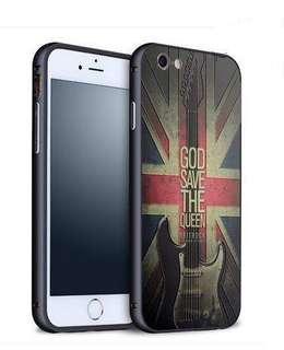Apple iphone 6/6s、6/6s plus  結他 金屬邊框  立體浮雕 原價$128 特價$60