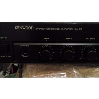 Kenwood KA-36 Stereo Integrated Amplifier For Sale