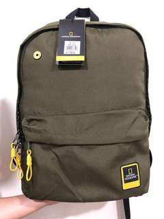 BNWT National Geographic Campus Bag