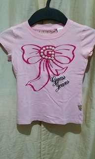 Authentic Guess Pink Top