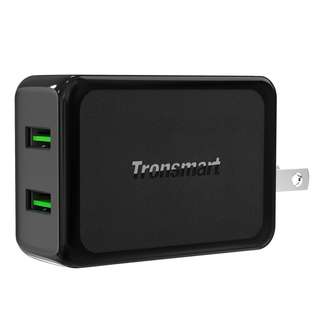 Tronsmart 2-Port USB Wall Charger with Dual Quick Charge 3.0