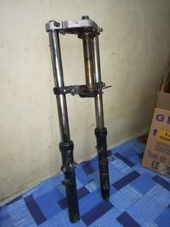 Crown, Triple Clamp, Fork Semua orimoto