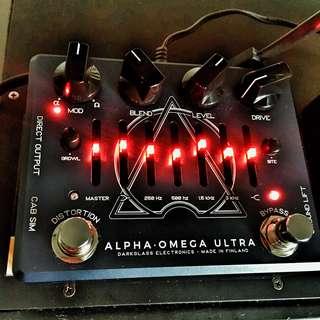 Darkglass Alpha Omega Ultra Bass Preamp pedal