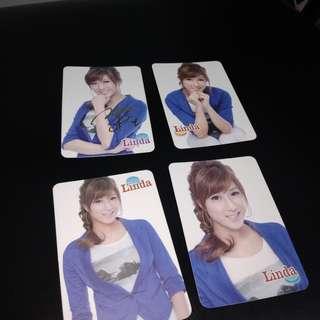 tvb linda chung photo cards