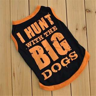 I hunt with big dogs shirt