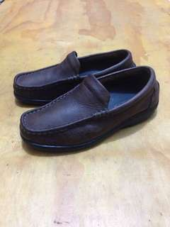 Dr. Mocc Slip On Leather Shoes