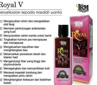 Antara khasiat ROYAL V . .