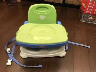 🚚 二手 費雪可攜式 寶寶餐椅