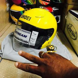 Shoei J stream Yellow Size S ONLY
