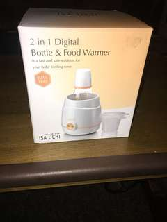 Isa Uchi food and bottle warmer - Brand new still in box