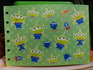 Disney/Pixar三眼仔貼紙