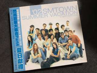 SM Town 02 Summer Vacation Kangta BoA Shinhwa 神話 S.E.S.