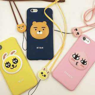 PREORDER LINE FRIENDS IPHONE PHONE CASE