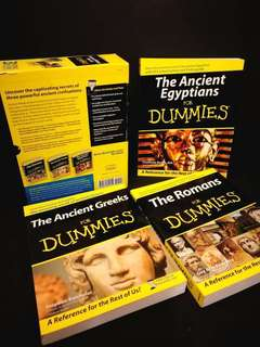🚚 Preloved Ancient History for Dummies