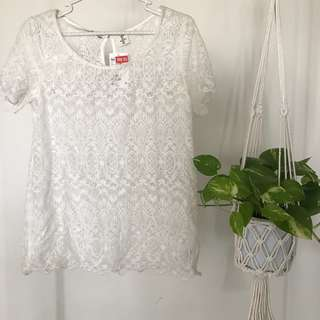 BNWT H&M Lace Top