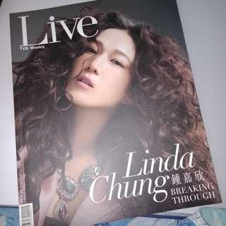 tvb weekly live mag linda chung